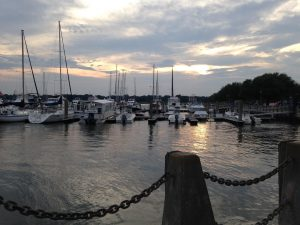 Beaufort Waterfront sunset